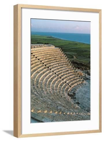 Greek-Roman Theatre of Kourion or Curium--Framed Art Print