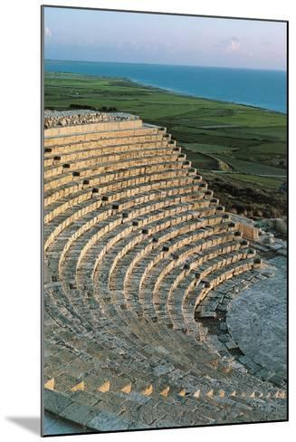 Greek-Roman Theatre of Kourion or Curium--Mounted Photographic Print