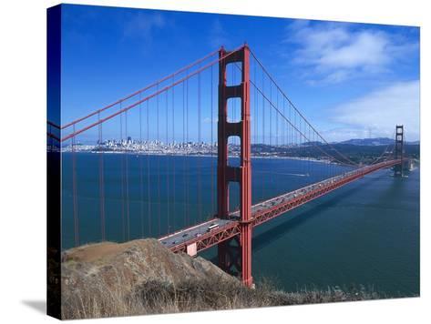 Golden Gate Bridge (1933-1937) by Joseph Baermann Strauss--Stretched Canvas Print