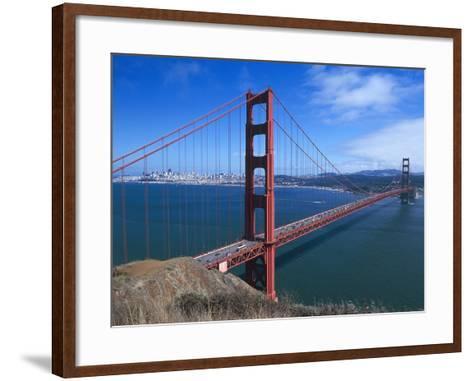 Golden Gate Bridge (1933-1937) by Joseph Baermann Strauss--Framed Art Print