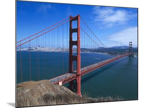Golden Gate Bridge (1933-1937) by Joseph Baermann Strauss--Mounted Photographic Print