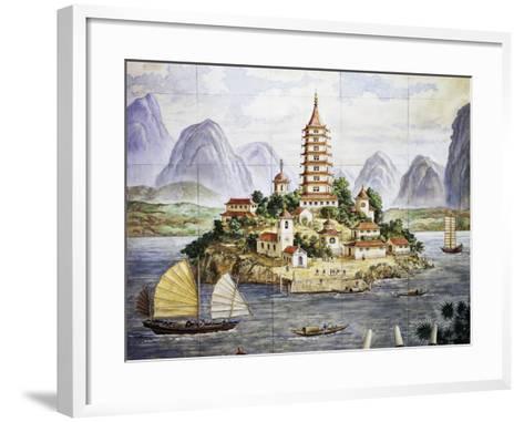 Golden Isle--Framed Art Print
