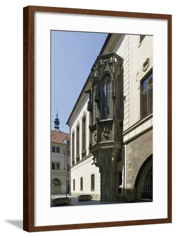 Gothic Bay Window by Peter Parler--Framed Art Print