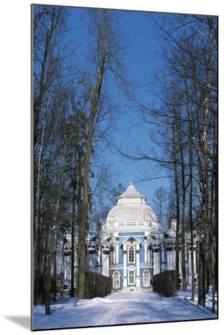 Hermitage Pavilion in Snow--Mounted Photographic Print