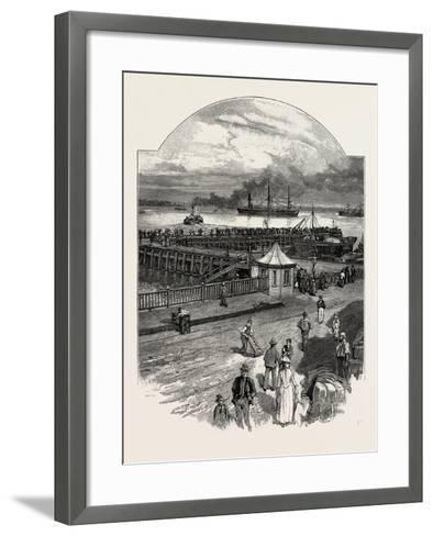 Harwich: the Quay--Framed Art Print