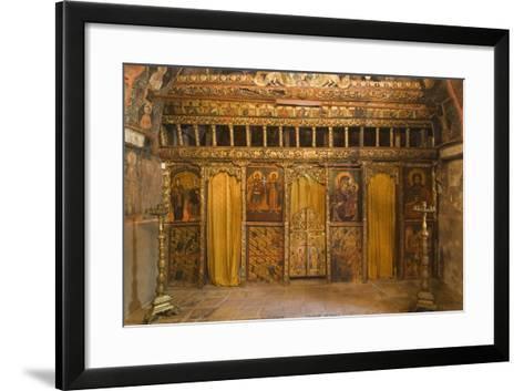 Frescoes in Church of Archangels Michael and Gabriel (18th Century)--Framed Art Print