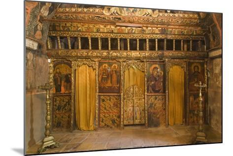 Frescoes in Church of Archangels Michael and Gabriel (18th Century)--Mounted Photographic Print