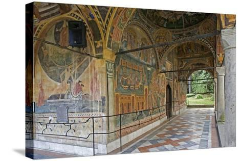 Frescoes of Zakharii Khristovich Zograf (1840) in Narthex of Most Holy Mother of God Church (1835)--Stretched Canvas Print