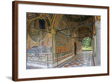 Frescoes of Zakharii Khristovich Zograf (1840) in Narthex of Most Holy Mother of God Church (1835)--Framed Art Print