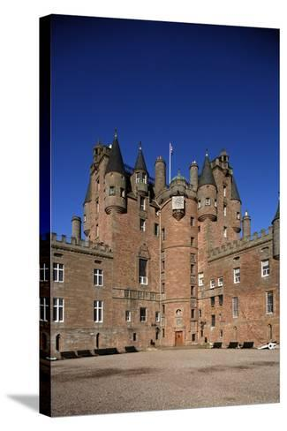 Glamis Castle (15th-16th Century)--Stretched Canvas Print