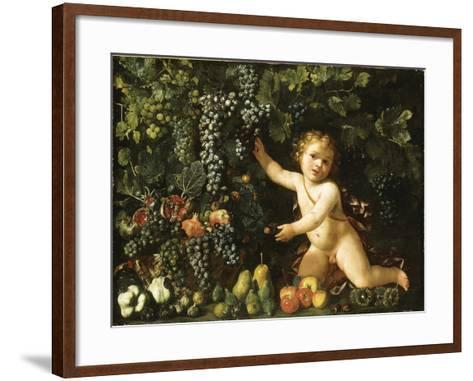 Grapes on the Vine--Framed Art Print