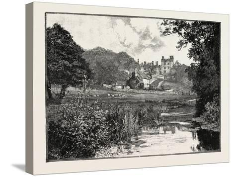 Haddon Hall--Stretched Canvas Print