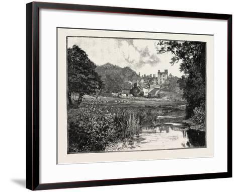 Haddon Hall--Framed Art Print