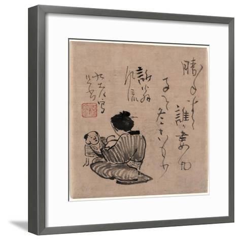 Haha to Ko--Framed Art Print