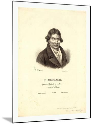 Head-And-Shoulders Profile Portrait of French Balloonist J.A.C. Charles--Mounted Giclee Print