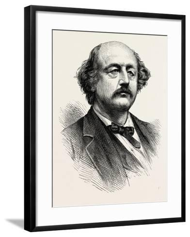 General Butler--Framed Art Print