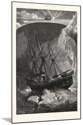 In Search of the North Pole--Mounted Giclee Print