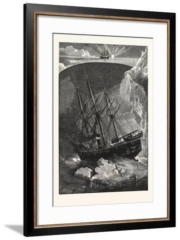 In Search of the North Pole--Framed Art Print