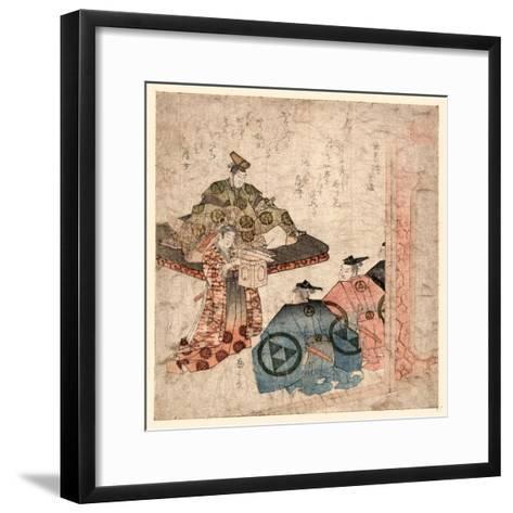 Hojo Yasutoki--Framed Art Print