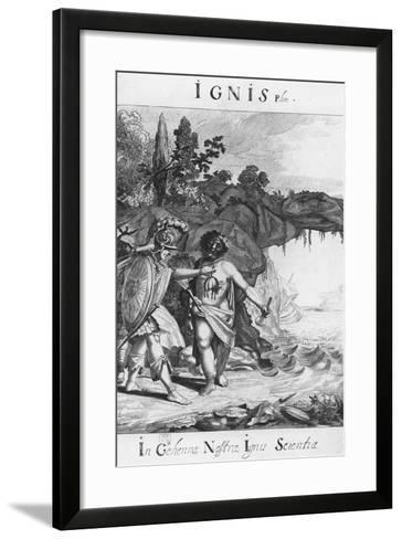 Ignis--Framed Art Print