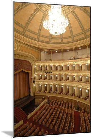 Horseshoe Shaped Auditorium in Coccia Theatre (Opened in 1888)--Mounted Photographic Print