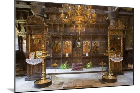 Interior of Most Holy Mother of God Church (1835) in Monastery of Dormition (Troyan Monastery)--Mounted Photographic Print