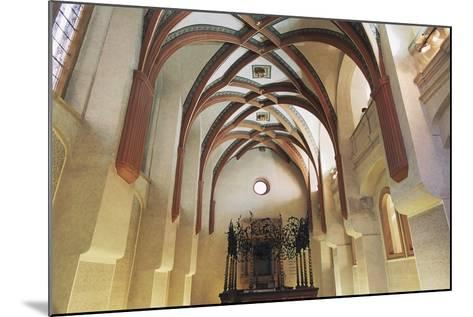 Interior of Pinkas Synagogue--Mounted Photographic Print