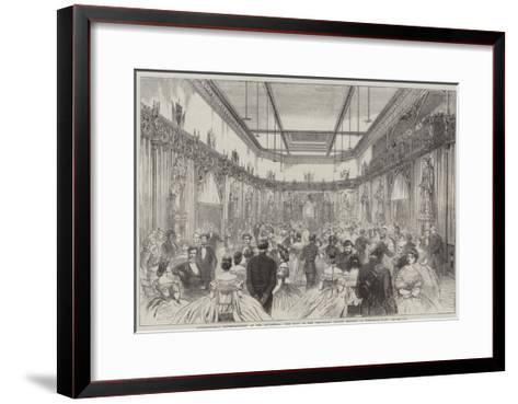 International Entertainment at the Guildhall--Framed Art Print