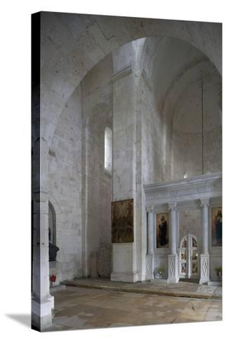 Interior of the Cathedral of the Transfiguration of the Saviour (Spaso-Preobrazhensky Sobor)--Stretched Canvas Print