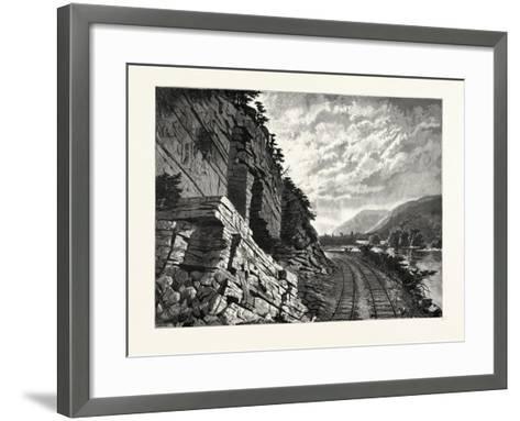 Juniata River--Framed Art Print