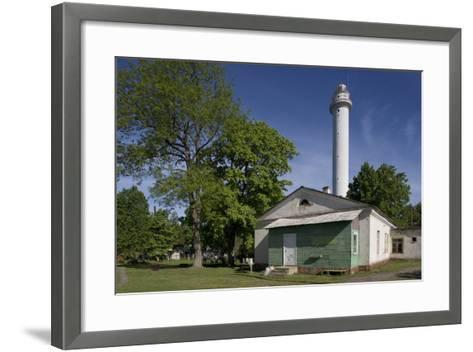 Lighthouse (Established in 1884--Framed Art Print