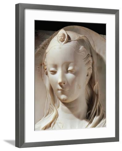 Madonna and Child with Angels--Framed Art Print