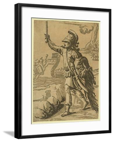 Jason Returning with the Golden Fleece--Framed Art Print
