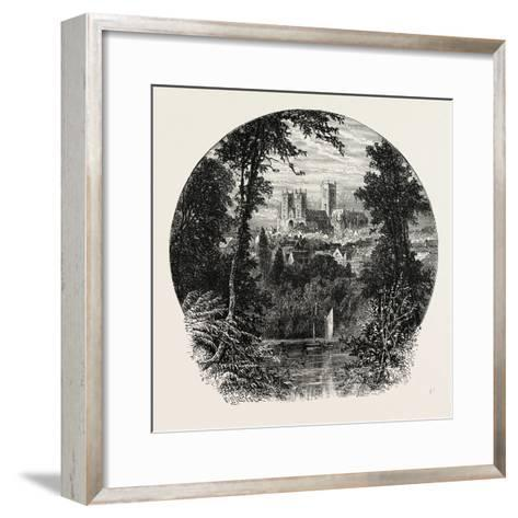 Lincoln Cathedral--Framed Art Print