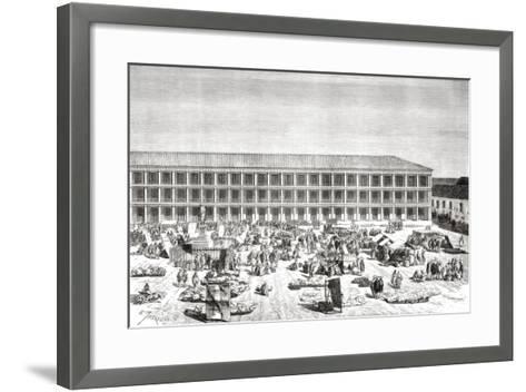 La Casa De Los Portales--Framed Art Print