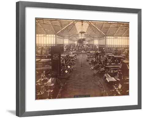 Machinery Hall--Framed Art Print