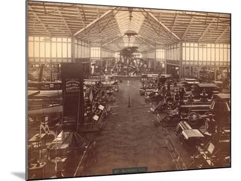 Machinery Hall--Mounted Photographic Print