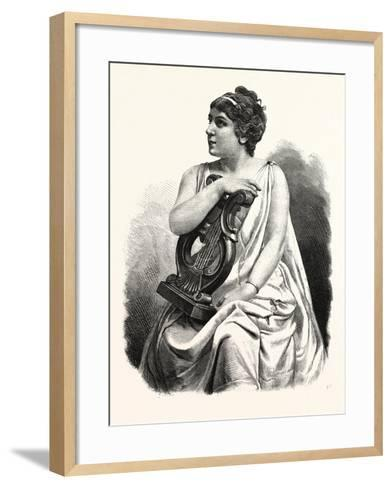 Madame Marie Roze - Mapleson--Framed Art Print