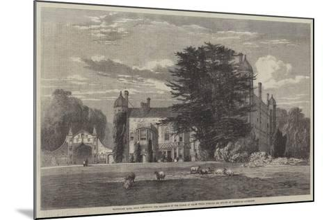 Madingley Hall--Mounted Giclee Print