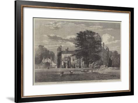 Madingley Hall--Framed Art Print