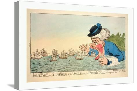 John Bull--Stretched Canvas Print