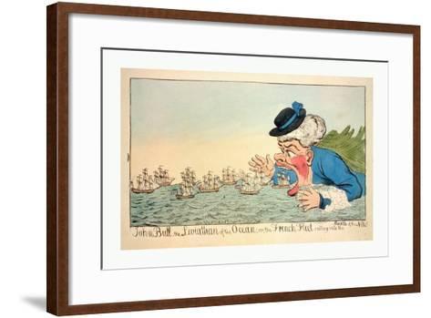 John Bull--Framed Art Print