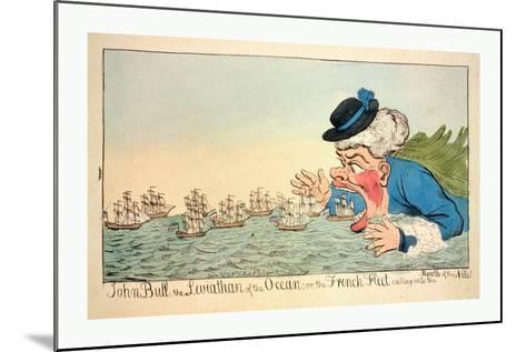 John Bull--Mounted Giclee Print