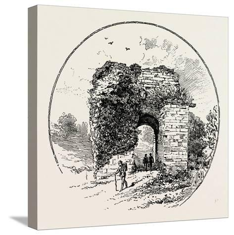 John of Gaunt's Gateway--Stretched Canvas Print