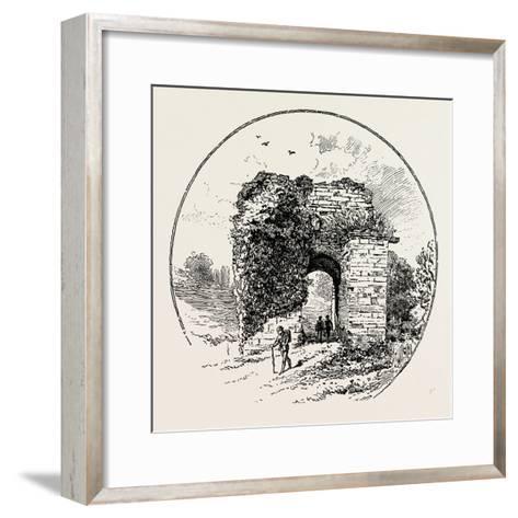 John of Gaunt's Gateway--Framed Art Print