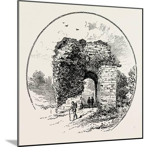 John of Gaunt's Gateway--Mounted Giclee Print