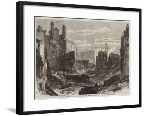 London Improvements--Framed Art Print