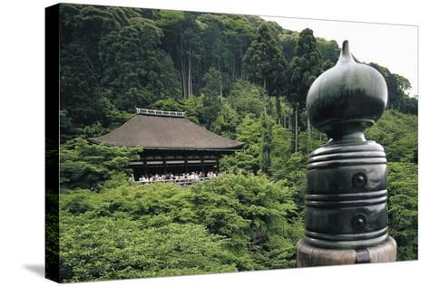 Kiyomizu-Dera Temple (Temple of Pure Water)--Stretched Canvas Print