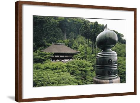Kiyomizu-Dera Temple (Temple of Pure Water)--Framed Art Print
