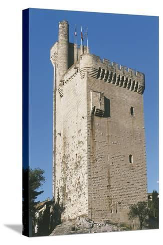 Low Angle View of a Tower--Stretched Canvas Print
